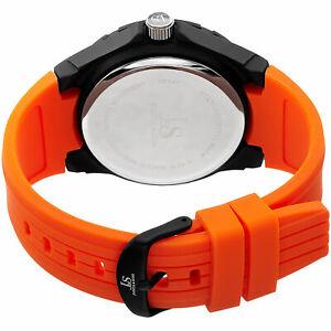 腕時計 ジョシュアメンズレザーデュアルタイムホイールストラップウォッチポイントjoshua amp; sons jx130ors men's leather dual timedate wheel strap watch set