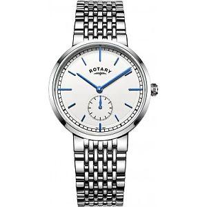【送料無料】腕時計 ロータリーステンレススチールブレスレットgb0506002  rotary gents stainless steel bracelet watch