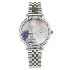 【送料無料】腕時計 ラグジュアリーコレクショントーレフェルシルバーorologio donna didofa luxury collection df999d torre eiffel didof silver 3d