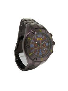 【送料無料】腕時計 マグナムクロノグラフラウンドアナログウォッチfila fa0700g magnum mens copper tone chronograph date round analog watch