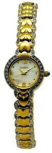 【送料無料】腕時計 #オーストリアクリスタルゴールドトーンブレスレットelgin eg604 women039;s sweetheart austrian crystal goldtone bracelet watch
