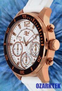 【送料無料】腕時計 クロノグラフアイウォッチ32 degrees esker chronograph multifunction 3 eye watch