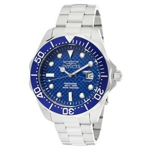 【送料無料】腕時計 メンズプロダイバーアナログクォーツステンレススチールinvicta mens pro diver analog quartz 200m stainless steel watch 12563