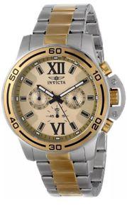 【送料無料】腕時計 #ゴールドトーンローマクロノグラフウォッチinvicta specialty 15058 men039;s gold tone roman numeral chronograph watch