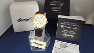 【送料無料】腕時計 クリフトンクロニクルウォッチlimited edition mens ingersoll the clifton chronicles inja001gdbr mech watch