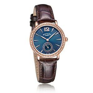 【送料無料】腕時計 ロータリーレディースローズゴールドウォッチrotary ladies rose gold plated watch  ls0305305