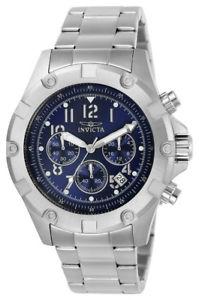 【送料無料】腕時計 メンズラウンドネイビークロノグラフアナログウォッチinvicta specialty 13614 mens round navy blue chronograph date analog watch