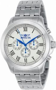 【送料無料】腕時計 メンズローマアナログウォッチinvicta specialty 21657 mens roman numeral day date 24 hour analog watch
