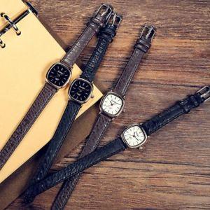 【送料無料】腕時計 トップレベルビンテージレザーレディースシンプルtop women vintage leather watch ladies simple quartz wrist watches for small