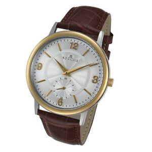 【送料無料】腕時計 シリーズトーンステンレススチールウォッチrougois lexington series two tone stainless steel watch