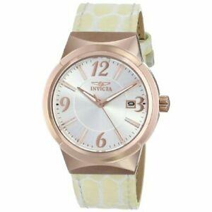 【送料無料】腕時計 レザーウォッチinvicta angel 15411 leather watch