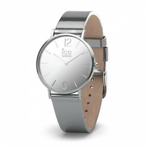 【送料無料】腕時計 オロロジオメタルorologio icewatch city sparkling metal silver 34mm ic015083