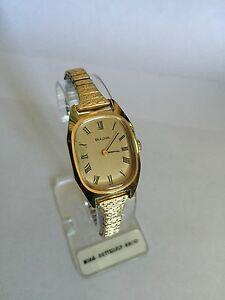 【送料無料】腕時計 ビンテージレディースジュエルベゼル1970svintage ladies bulova wrist watch *17jewel * gold plated bezel * handwound