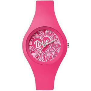 【送料無料】腕時計 シリコンorologio donna ice watch love icelopkdo small 33mm silicone fucsia