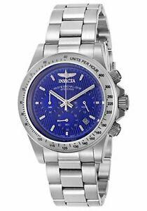 【送料無料】腕時計 メンズスピードウェイメートルスチールクロノウォッチinvicta 9329 mens speedway 200 meter wr steel chrono watch