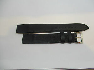 【送料無料】腕時計 bracelet montre noir pour anses fixes t16 en cuir souple