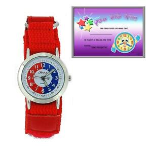 海外最新 【送料無料 red】腕時計 コレクションタイムイージーウォッチthe olivia collection time teacher fasten watch red easy fasten watch telling time award, おつけもの丸長:f8a5a121 --- holger-marschall.info