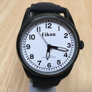 素晴らしい 【送料無料】腕時計 ビンテージクラシックブラックホワイトファブリックアナログクォーツウォッチバッター, カー用品日用品のホームセンター:eb99a531 --- holger-marschall.info