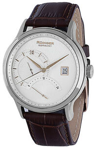 【送料無料】腕時計 メンズアーヘンrudiger mens r27000400116 aachen 24 hour display brown leather date watch