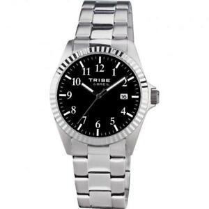 【送料無料】腕時計 クラシックorologio uomo breil tribe classic elegance ew0191 bracciale acciaio nero