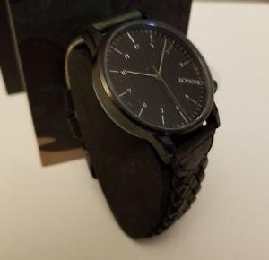 【送料無料】腕時計 ワウウィンストンメンズブラックカムフラージュ