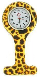 【送料無料】腕時計 プリントプロコントロールゲルウォッチrelda leopard paw print infection control gel professional fob watch rel05