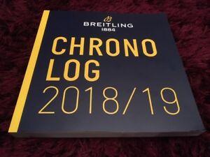 【送料無料】腕時計 ワイドカタログページブランドbreitling 20182019 watch catalogue 242 pages brand issue
