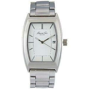 【送料無料】腕時計 ケネス#ステンレススチールブレスレットケースクォーツアナログウォッチkenneth cole men039;s steel bracelet amp; case quartz date analog watch 10019422