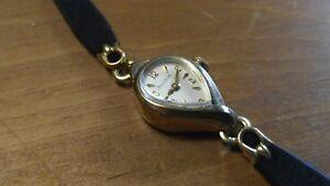 送料無料 腕時計 ヴィンテージスイスレディースティアドロップvintage 1960s bulova ladies teard34cAjLqR5S