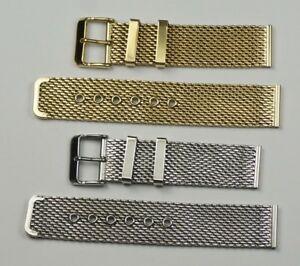 代引き人気 【送料無料】腕時計 メッシュウォッチストラップブレスレットシルバーステンレスquality mesh mesh watch 1222mm strap plated bracelet silver stainless steel or gold plated 1222mm, ハリマチョウ:267e665f --- holger-marschall.info