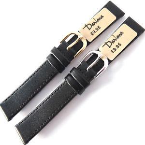 【送料無料】腕時計 ミリブラックカーフレザーストラップクラシックウォッチゴールドシルバーバックル