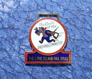 【送料無料】腕時計 the long island railroad train logo the route of the dashing commuter watch fob