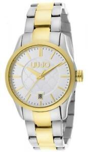 【送料無料】腕時計 orologio donna liu jo luxury tess tlj950 bracciale acciaio bicolor gold bianco