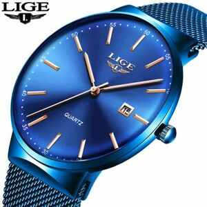 【送料無料】腕時計 ステンレススチールクラシッククオーツメンズluxury watches men stainless steel ultra thin watches men classic quartz mens