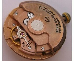 【送料無料】腕時計 ムーブメントeta 1256 watch movement 21 jewels complete for parts