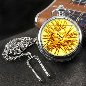 【送料無料】腕時計 オリンピックメダルポケットウォッチ