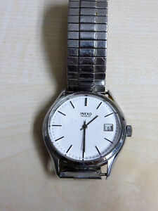 【送料無料】腕時計  inexo handaufzug kal fe 4601a ca 197080er jahre