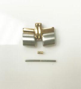 【送料無料】腕時計 トーンゴールドリンクピンウォッシャesq original 14mm twotone gold silver hampshire link pin and washer