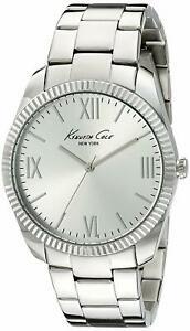 【送料無料】腕時計 ケネスニューヨーククラシックステンレススチールウォッチkenneth cole 10019684 york classic stainless steel watch