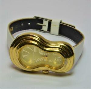 【送料無料】腕時計 サルバドールダリゴールドカラーソフトレディースsalvador dali demart melting time gold color soft watch ladies works great