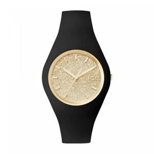 【送料無料】腕時計 グアテマラシリコーンゴールドサブメートルorologio ice watch glitter icicegtbgd silicone nero dorato gold sub 100mt