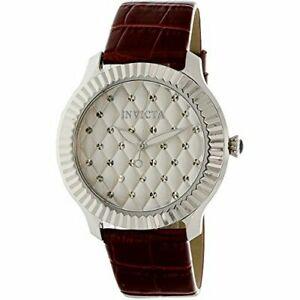 【送料無料】腕時計 invicta angel 25743 leather watch