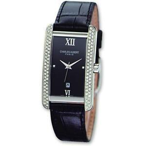 【送料無料】腕時計 チャールズneues angebotmen charles hubert leather wrist watch