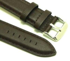 【送料無料】腕時計 ダークブラウンウォッチストラップスイスウェンガーメンズ20mm dark brown quality leather replacement watch strap swiss wenger 20 mens