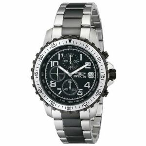 【送料無料】腕時計 メンズクロノグラフトーンスチールブレスレットinvicta 6398 mens specialty chrono two tone steel bracelet watch