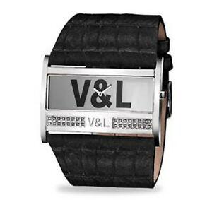 【送料無料】腕時計 ;montre femme vamp;l vl036604 47 mm