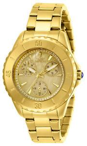 【送料無料】腕時計 イエローゴールドブレスレットinvicta 29107 womens angel quartz yellow gold bracelet watch