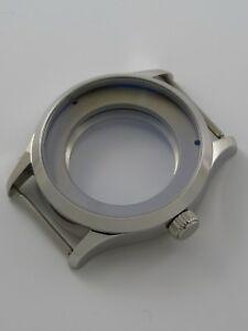 【送料無料】腕時計 サファイアケースboitier montre 41mm eta 2824 ou sw200 acier poli cylindric saphir watchcase