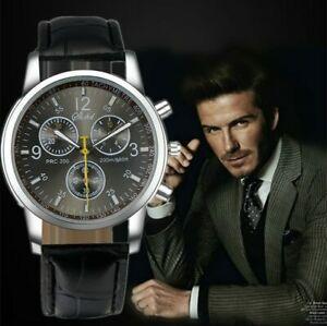 【送料無料】腕時計 ファッションカジュアルレザーアナログクォーツレトロホットセール fashion men watches retro quartz casual wristwatch hot leather analo