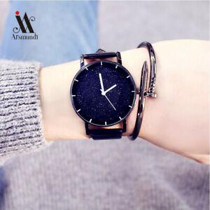 【送料無料】腕時計 ファッションシンプルレジャースターウォッチストライプレザークォーツモデルトレンドfashion trends models simple leisure star watch striped leather quartz wrist